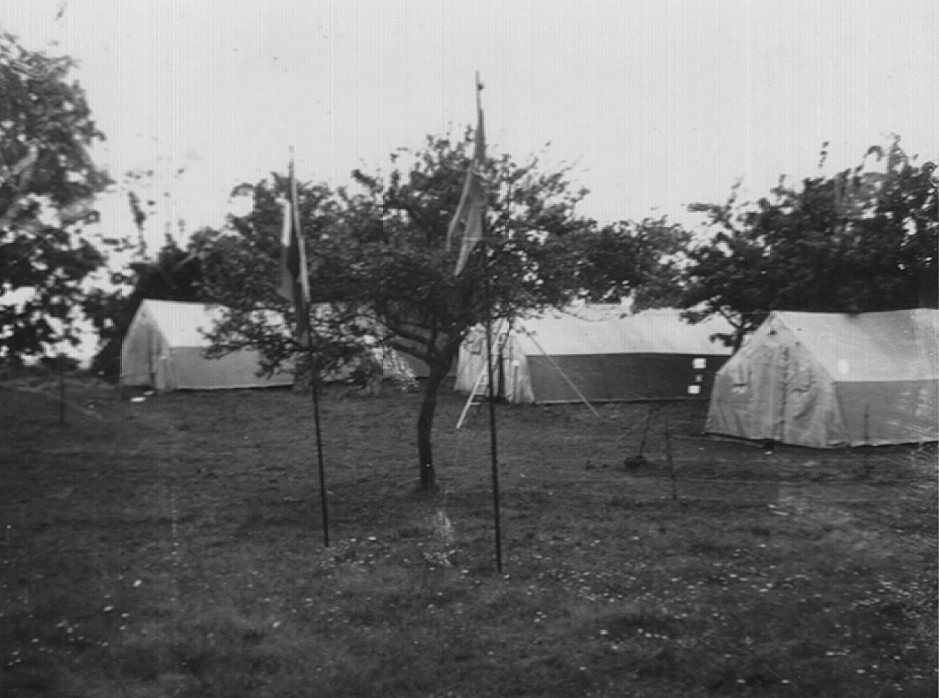 Mont-Joly: camp de toiles militaires