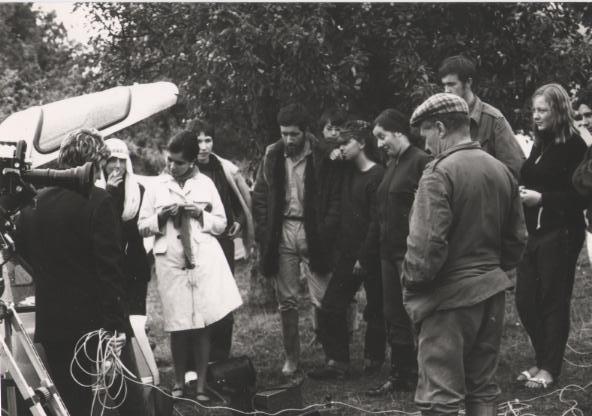 Télévision française au Mont-Joly en 1967