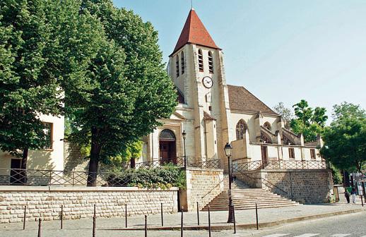 L`église de Saint-Germain-de-Charonne