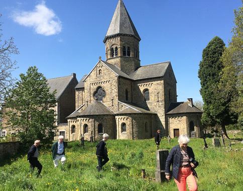 Eglise romane clunisienne de Saint-Severin en Condroz 2