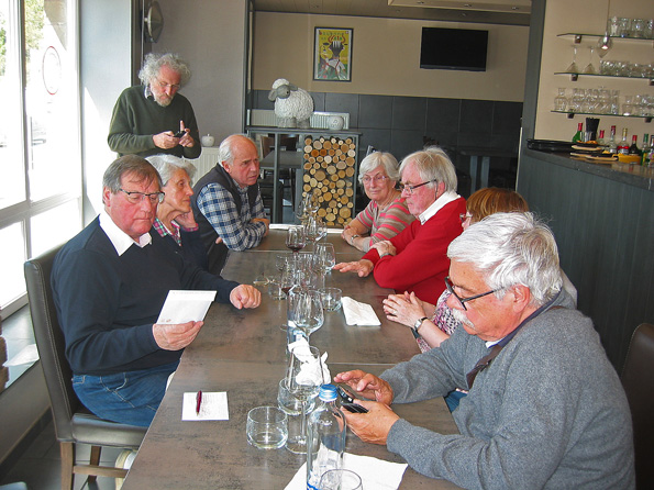 Restaurant Le 64, près d`andenne,belgique