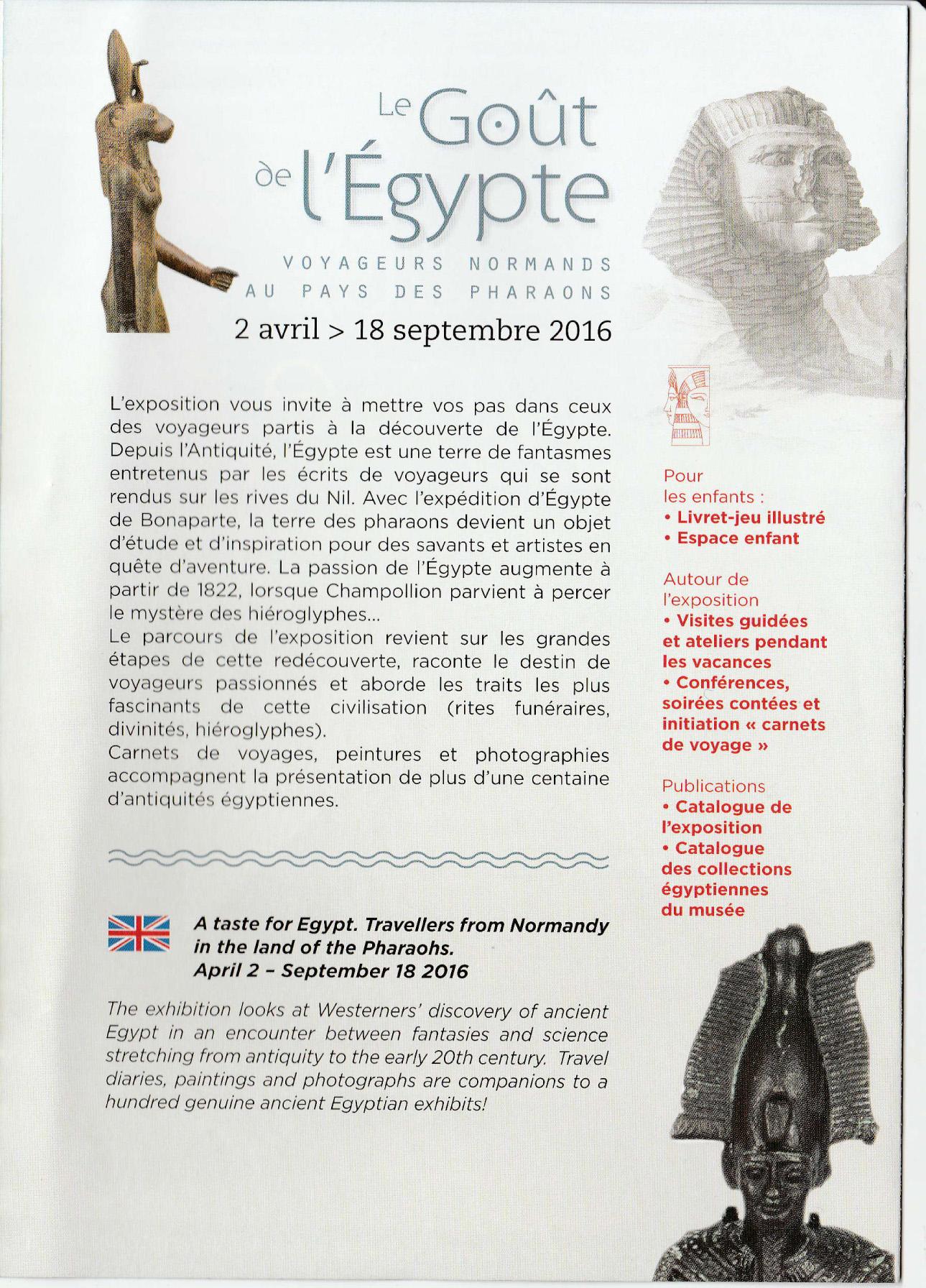 Exposition 2016 Musée d`Avranches
