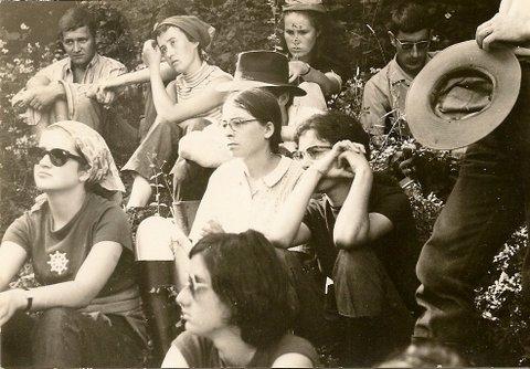 Margherita Mussi dans le Jura en 1970
