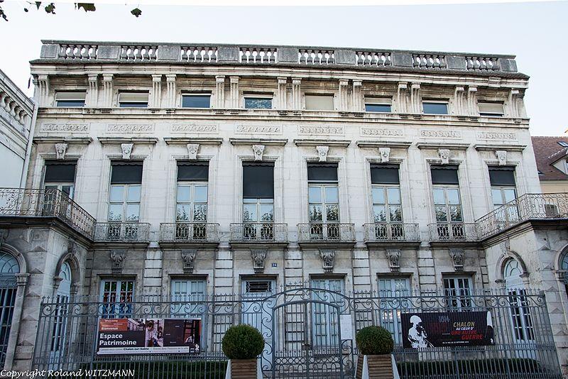 Hôtel particulier Colmont-de Fusselet à Chalon
