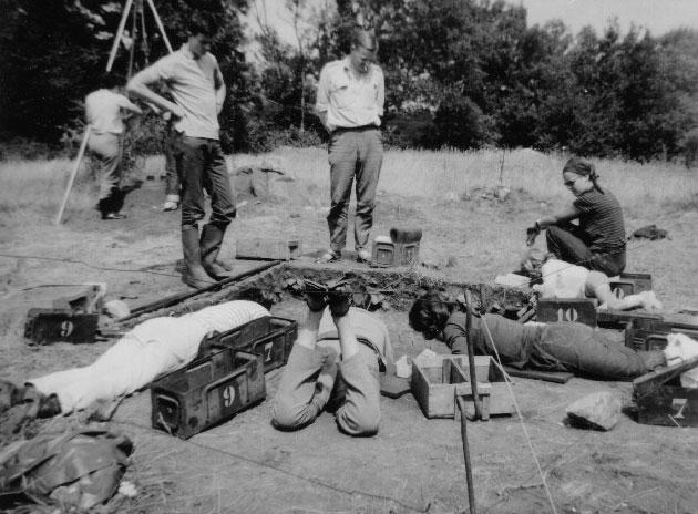 Sondage 38 d`initiation en 1965